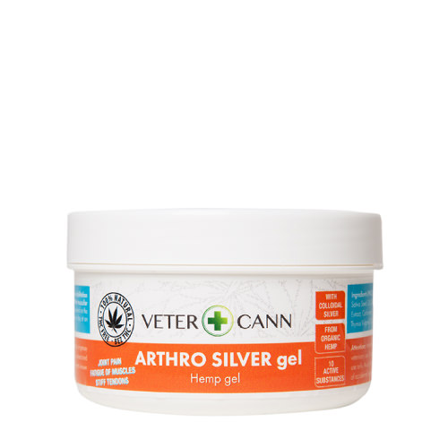 VETERCANN ARTHRO SILVER HEMP GEL for pets