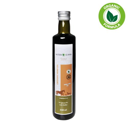 VETERCANN ORGANIC HEMP OIL nutrition for pets